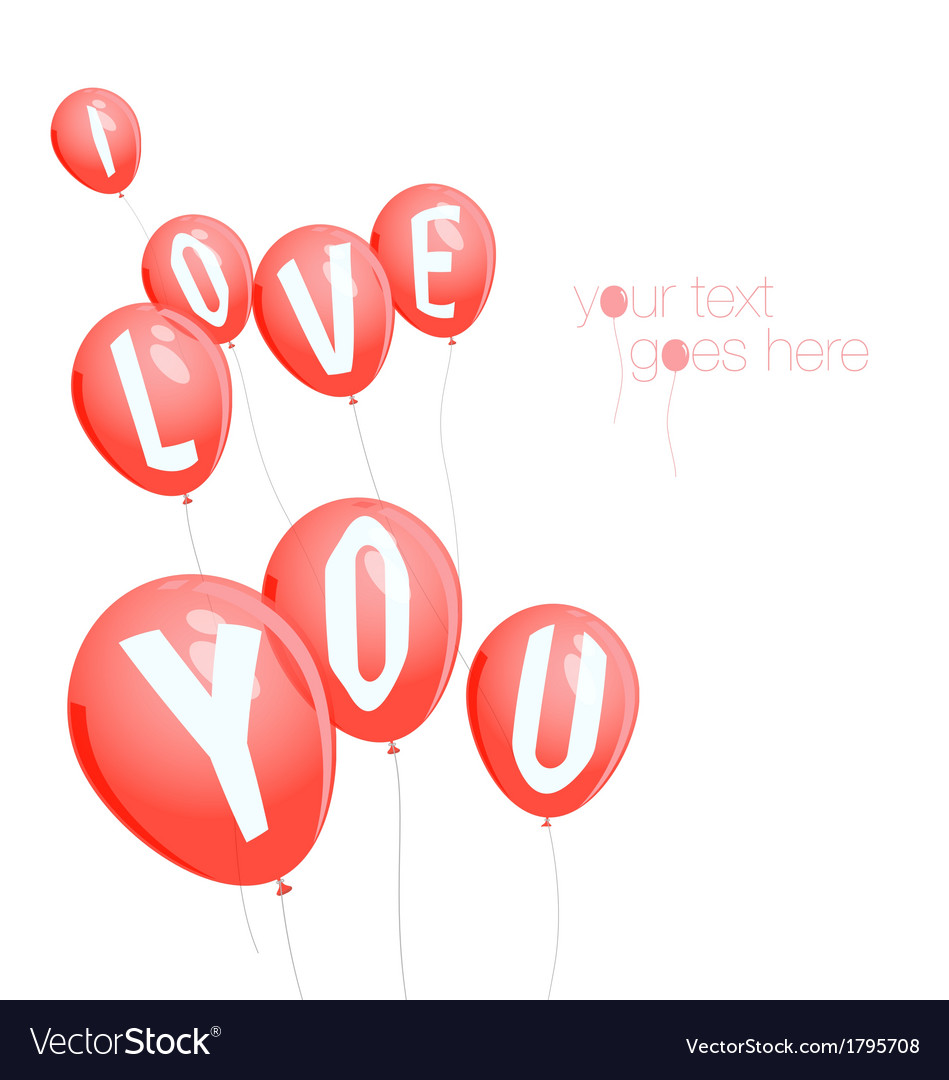 Valentines day background with copy space vector | Price: 1 Credit (USD $1)