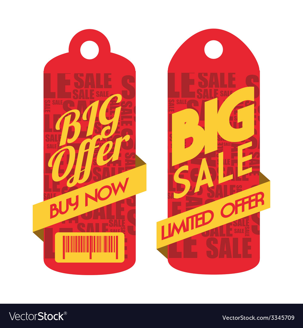Commerce tag design vector | Price: 1 Credit (USD $1)