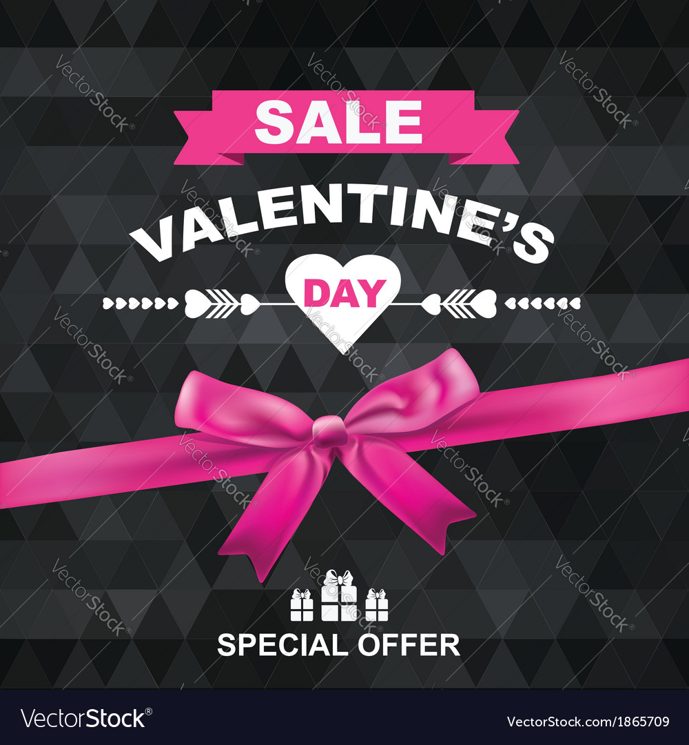 Poster valentines sale vector | Price: 1 Credit (USD $1)