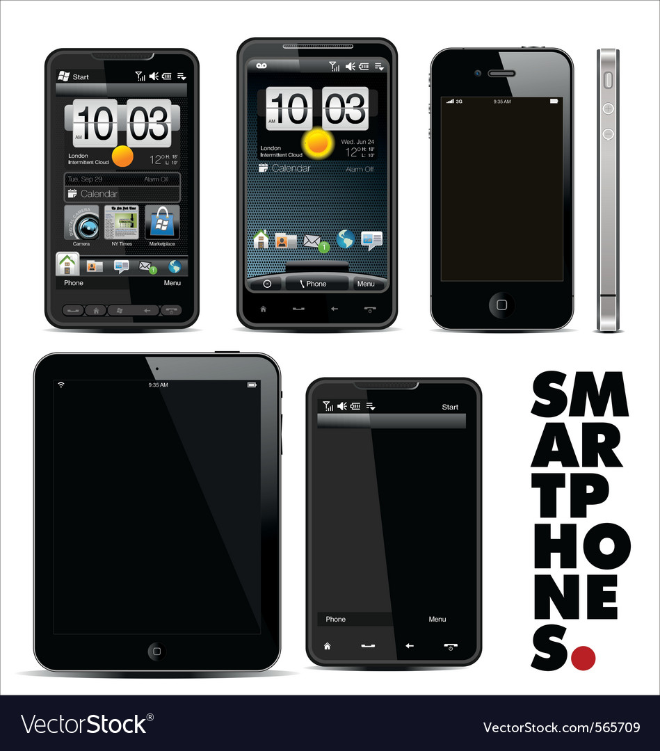 Smart phone vector | Price: 3 Credit (USD $3)