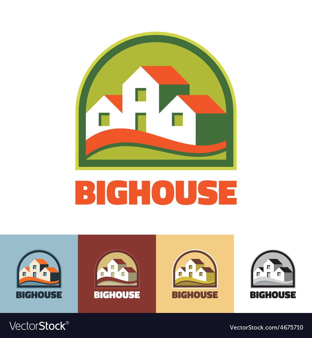 Big house - logo concept vector | Price: 1 Credit (USD $1)