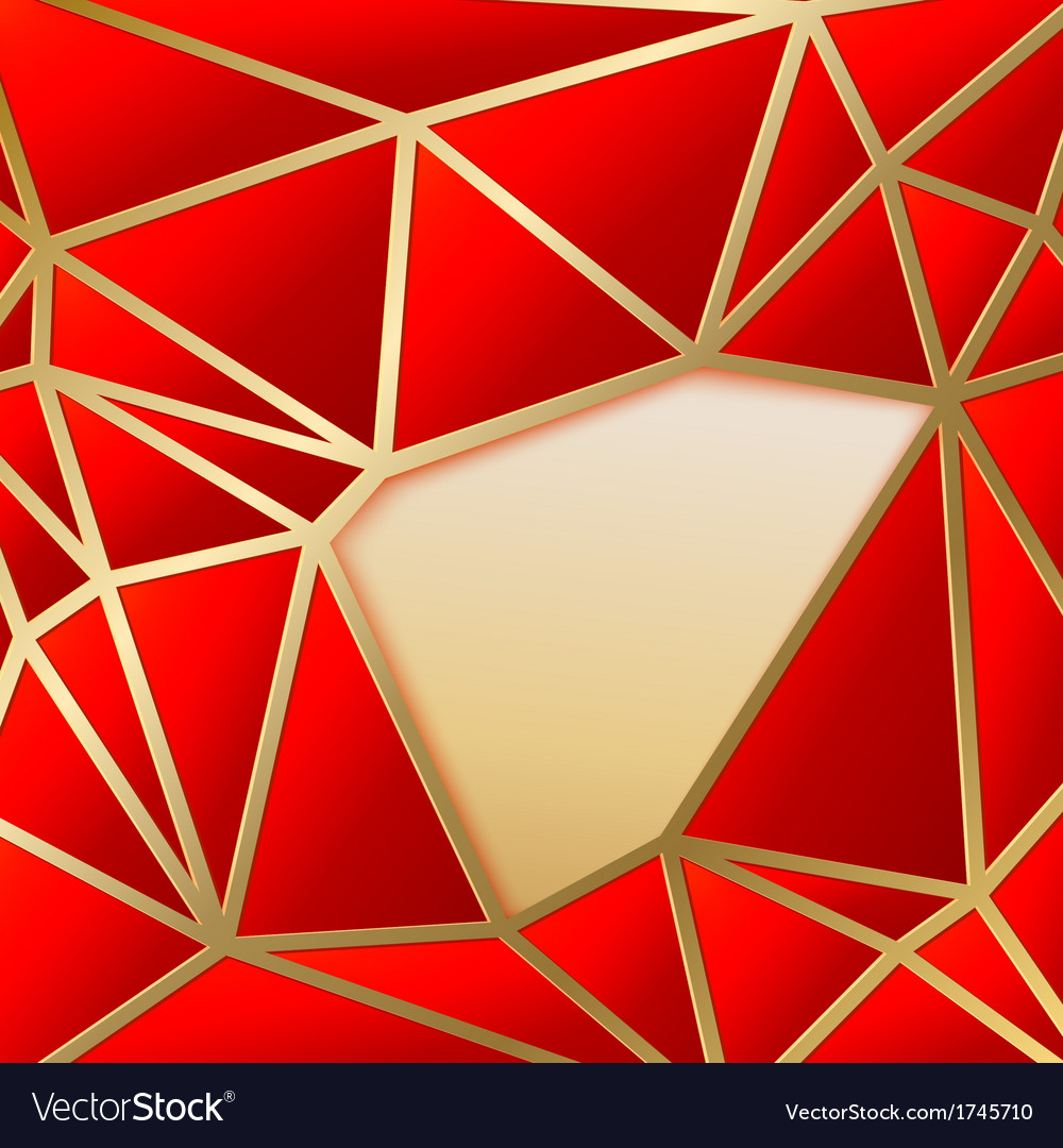 Fabulous triangles in gold vector | Price: 1 Credit (USD $1)