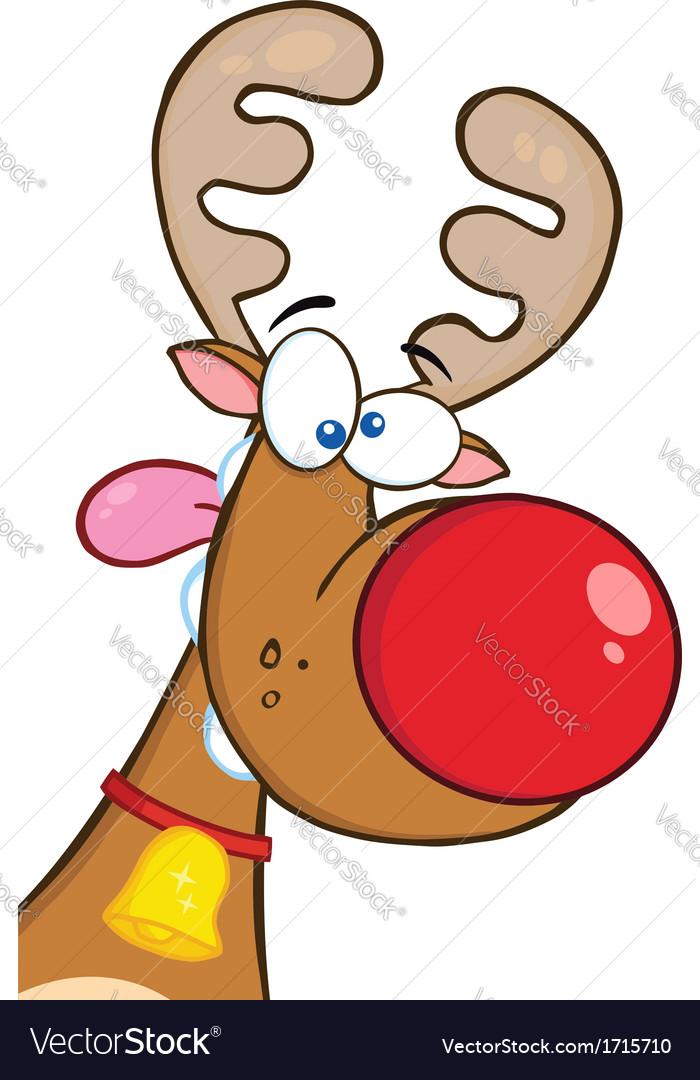 Reindeer cartoon vector   Price: 1 Credit (USD $1)