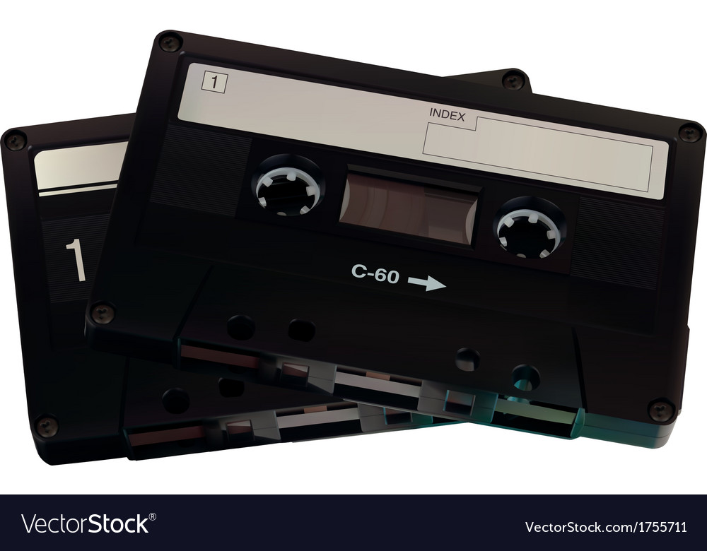 Audiocasette vector | Price: 1 Credit (USD $1)