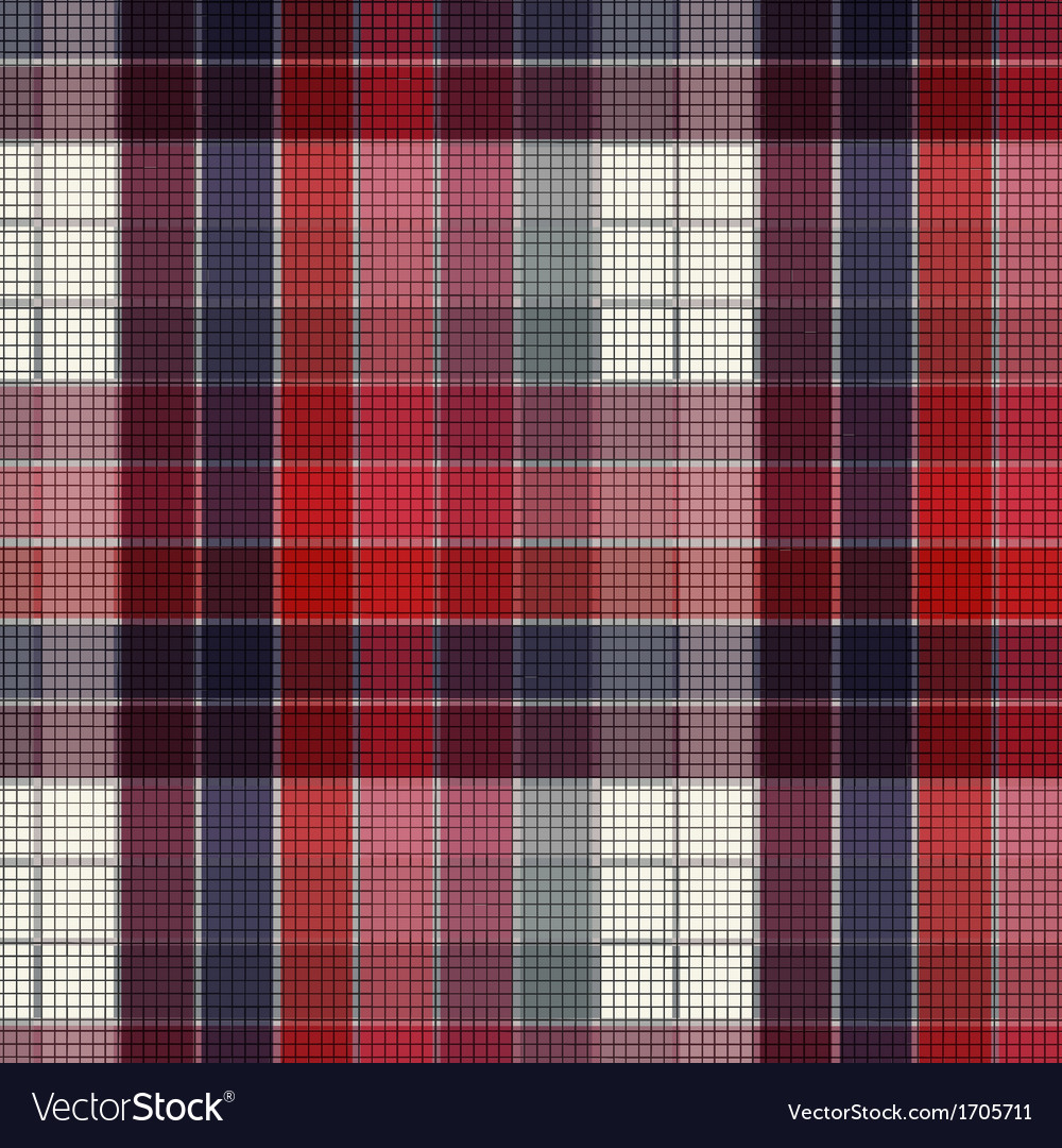 Plaid fabric vector | Price: 1 Credit (USD $1)