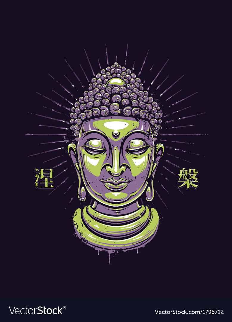 Buddha 1 vector | Price: 3 Credit (USD $3)