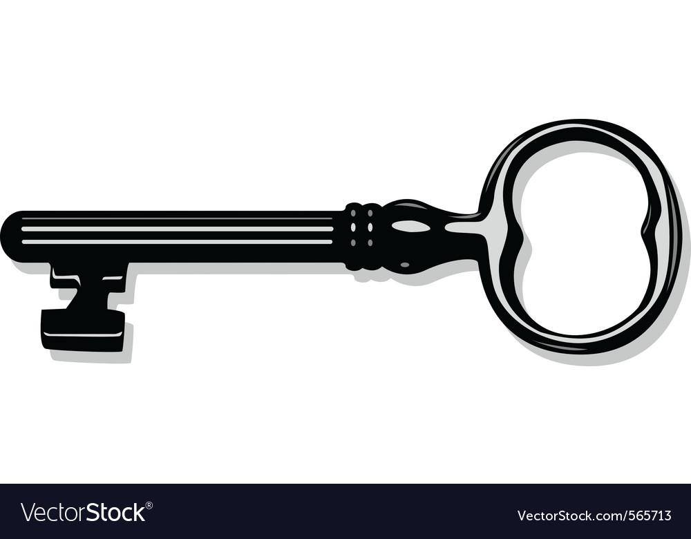 Antique key vector | Price: 1 Credit (USD $1)