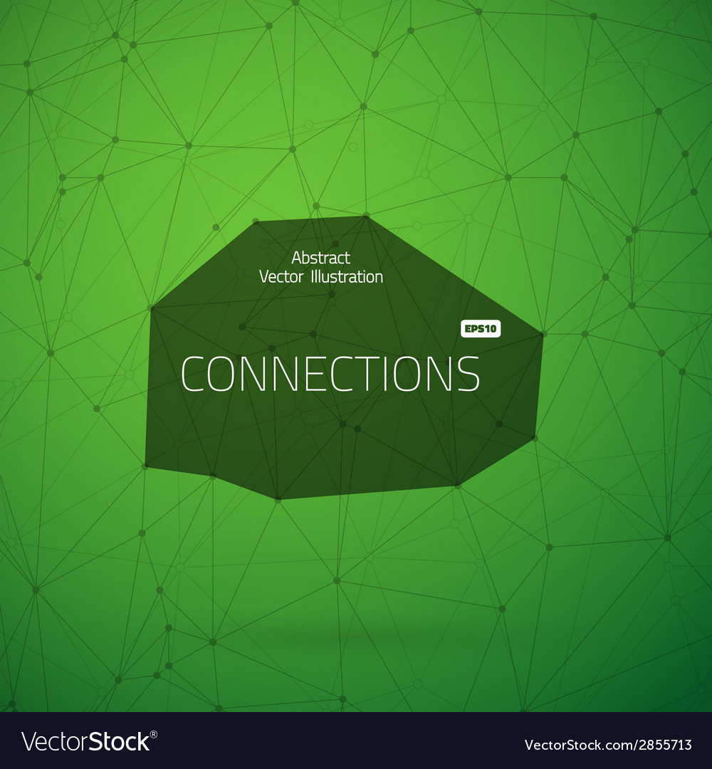 Worldwide network technology lines with dots vector | Price: 1 Credit (USD $1)