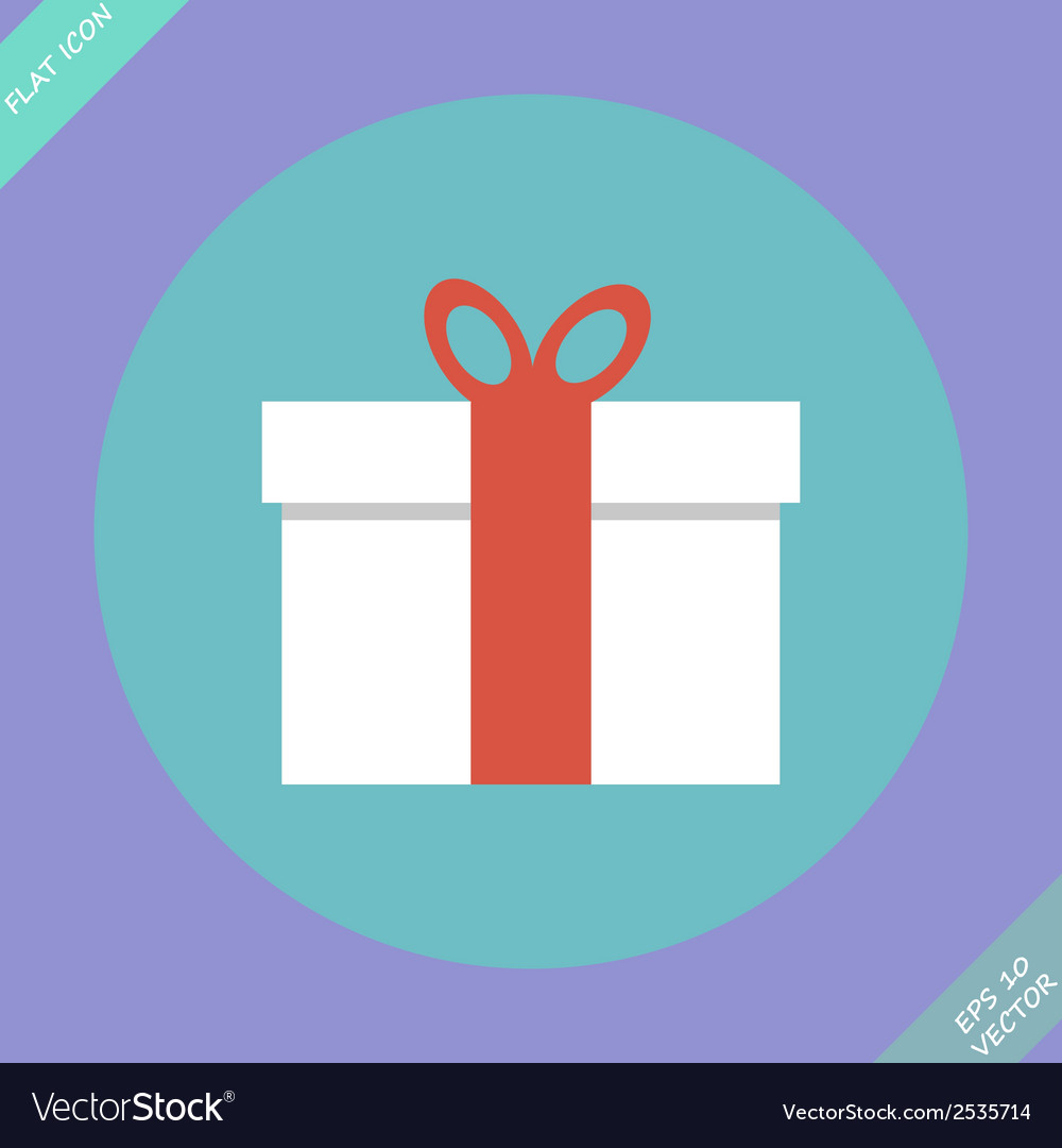 Gift box - vector | Price: 1 Credit (USD $1)