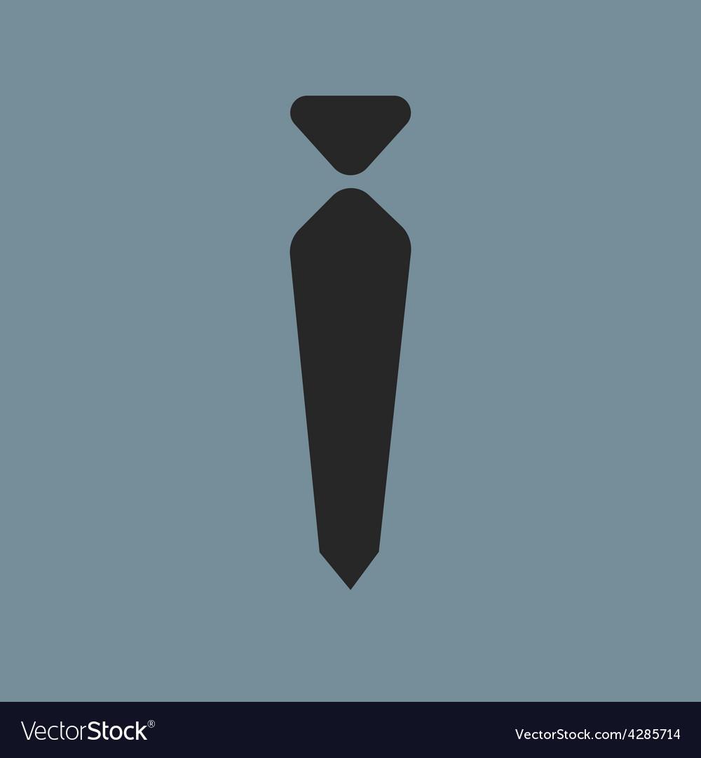 Tie icon symbol vector | Price: 1 Credit (USD $1)