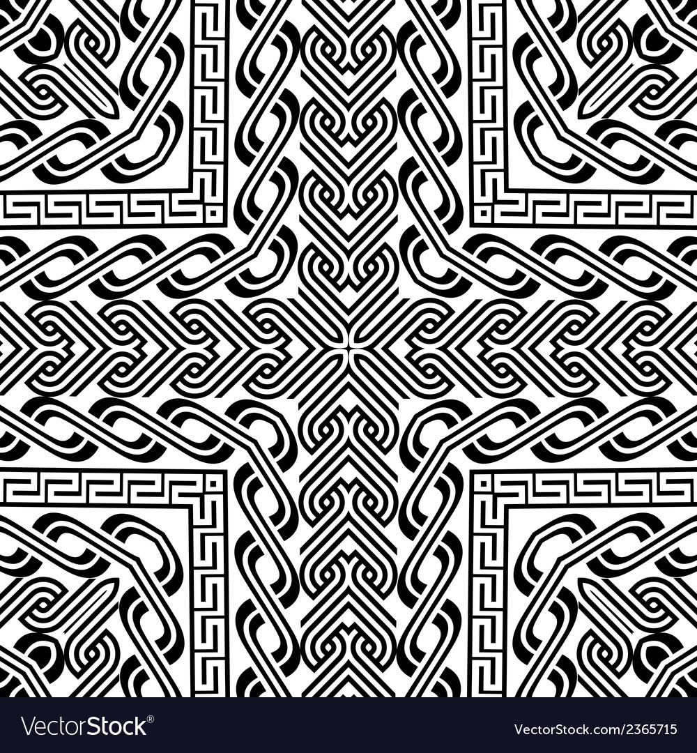 Abstract vintage pattern background not seamless vector | Price: 1 Credit (USD $1)
