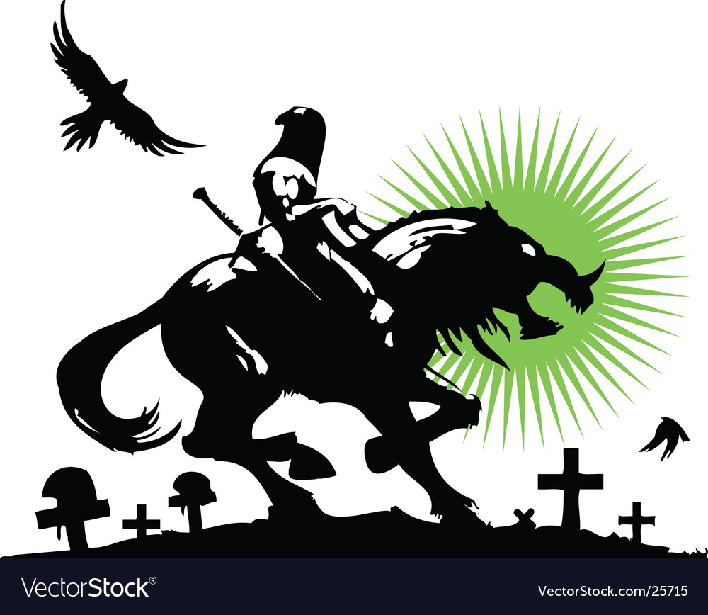 Dead warrior vector | Price: 1 Credit (USD $1)