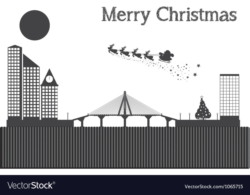 Merry christmas graphic design - abstract backgrou vector | Price: 1 Credit (USD $1)