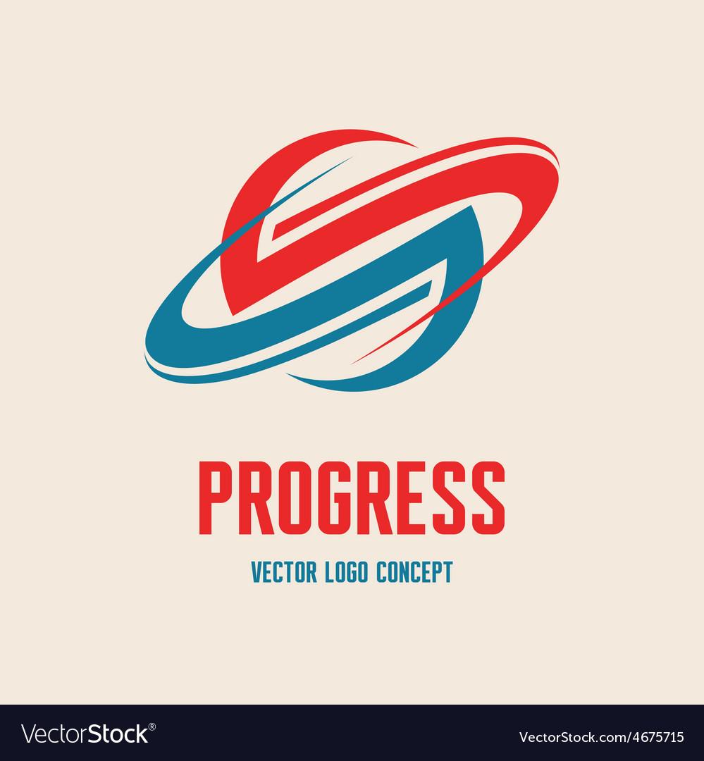 Planet saturn - logo concept vector | Price: 1 Credit (USD $1)