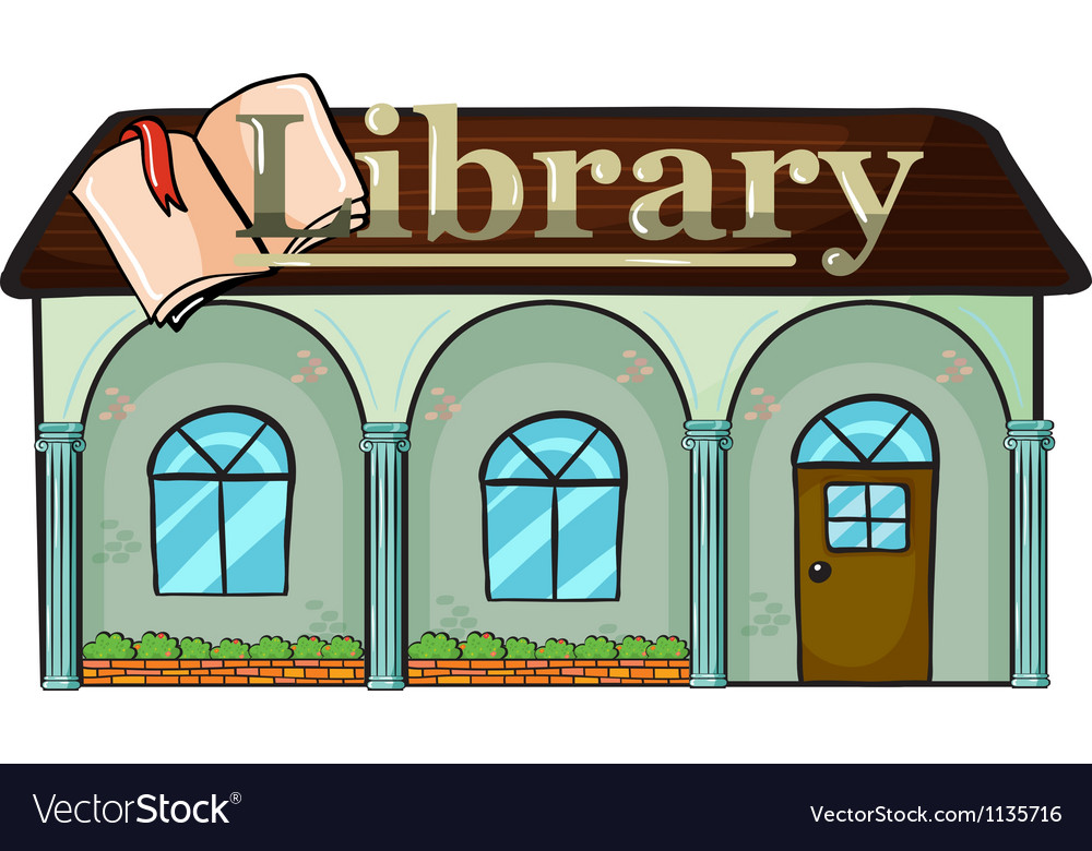 A library vector | Price: 1 Credit (USD $1)