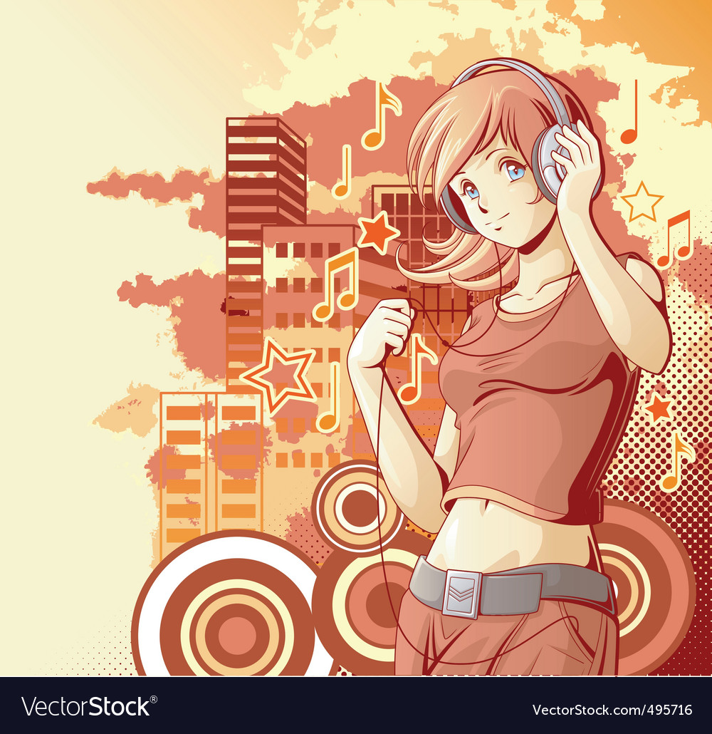Grunge urban music vector | Price: 3 Credit (USD $3)