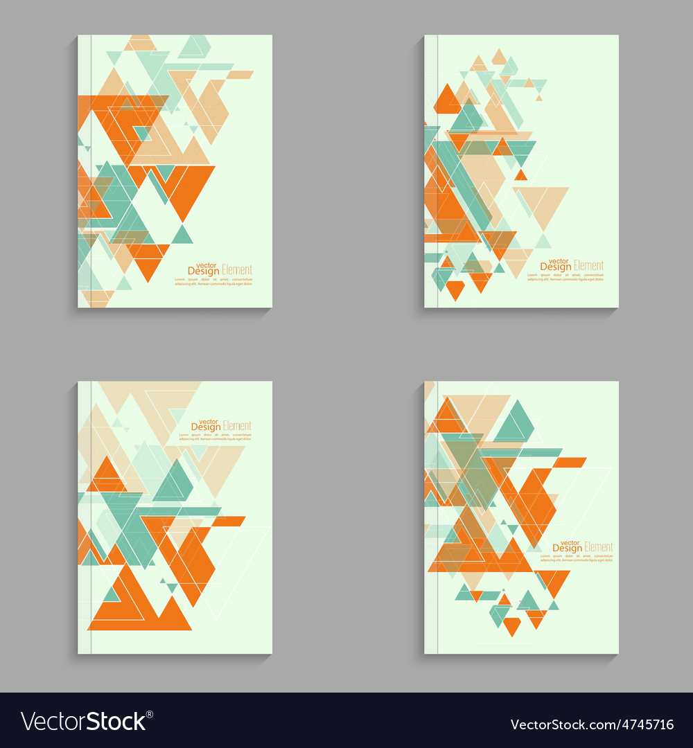 Set covers for magazine vector | Price: 1 Credit (USD $1)