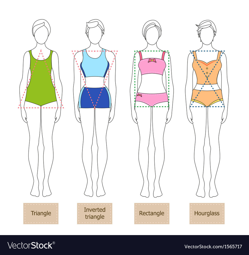 Lady shape vector | Price: 1 Credit (USD $1)