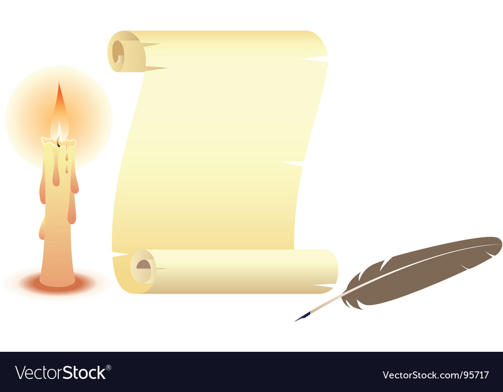 Old parchment vector | Price: 1 Credit (USD $1)
