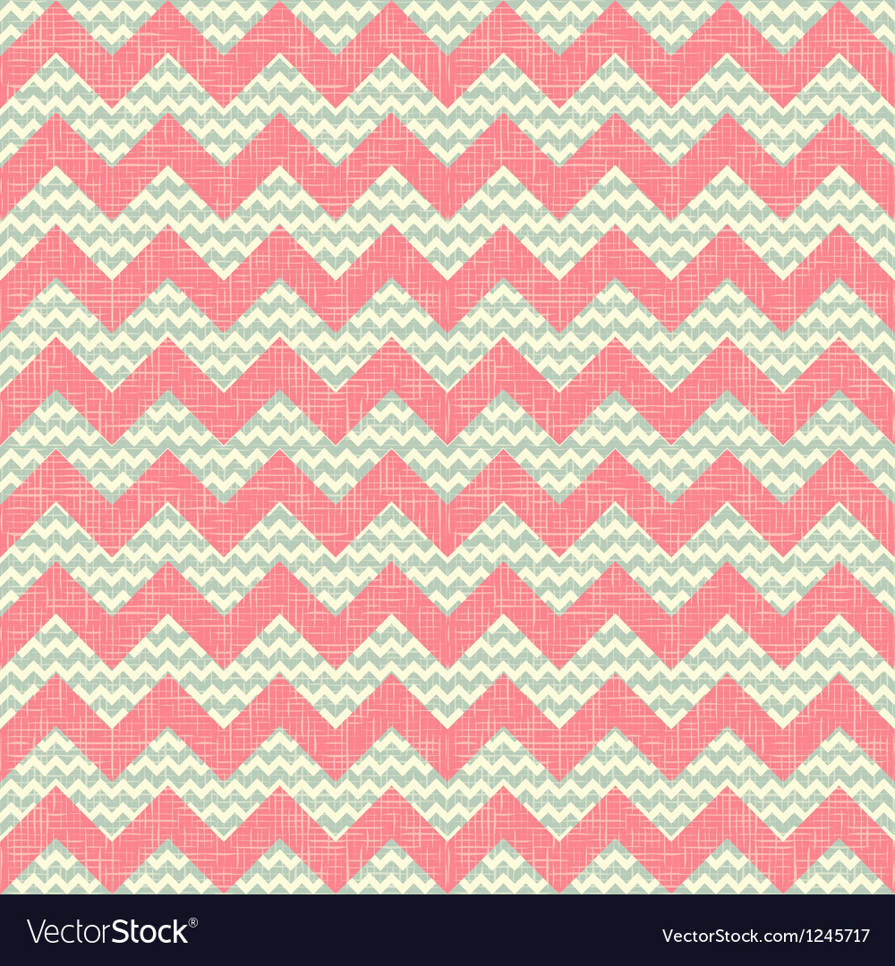 Zigzag pattern seamless chevron background vector | Price: 1 Credit (USD $1)