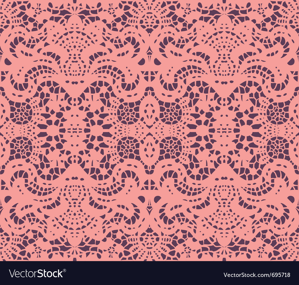 Pink lace doily vector | Price: 1 Credit (USD $1)