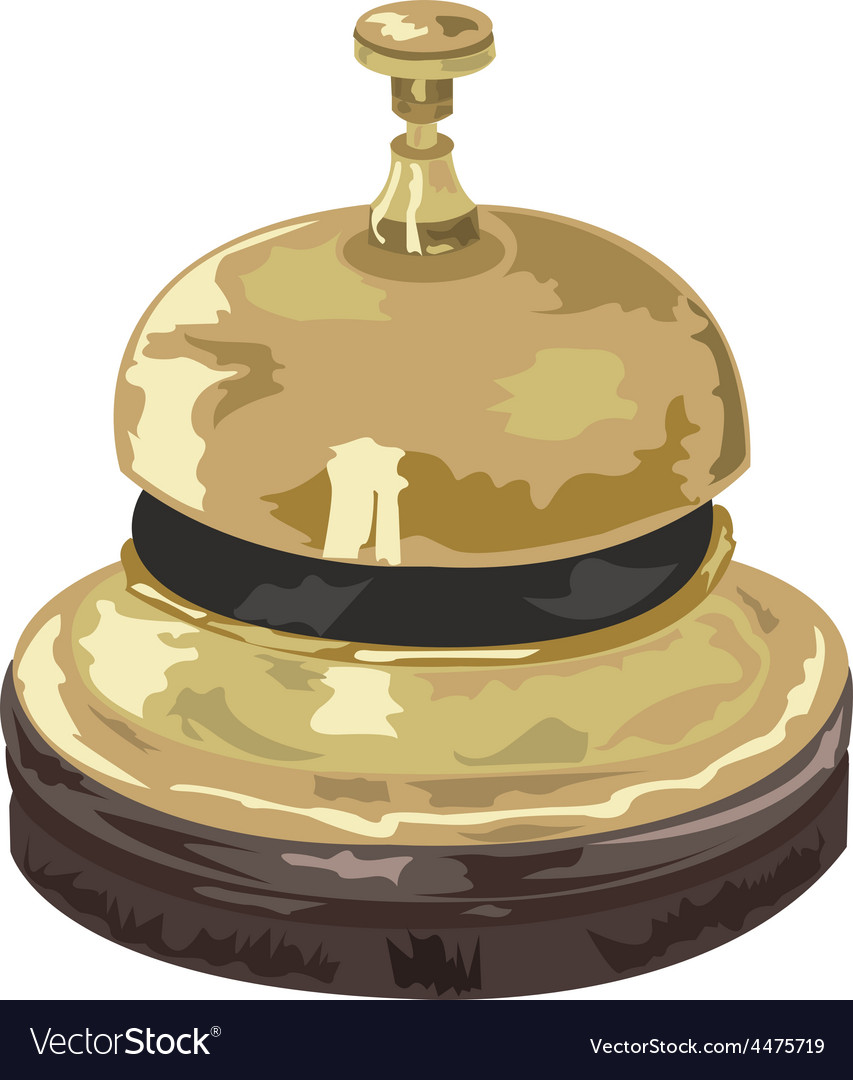 Bell cartoon vector | Price: 1 Credit (USD $1)