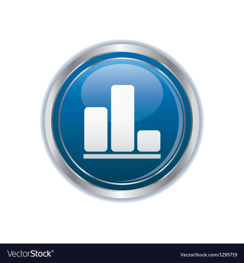 Business diagram icon vector | Price: 1 Credit (USD $1)