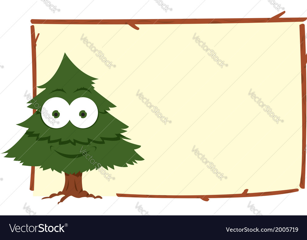 Funny fir frame vector | Price: 1 Credit (USD $1)
