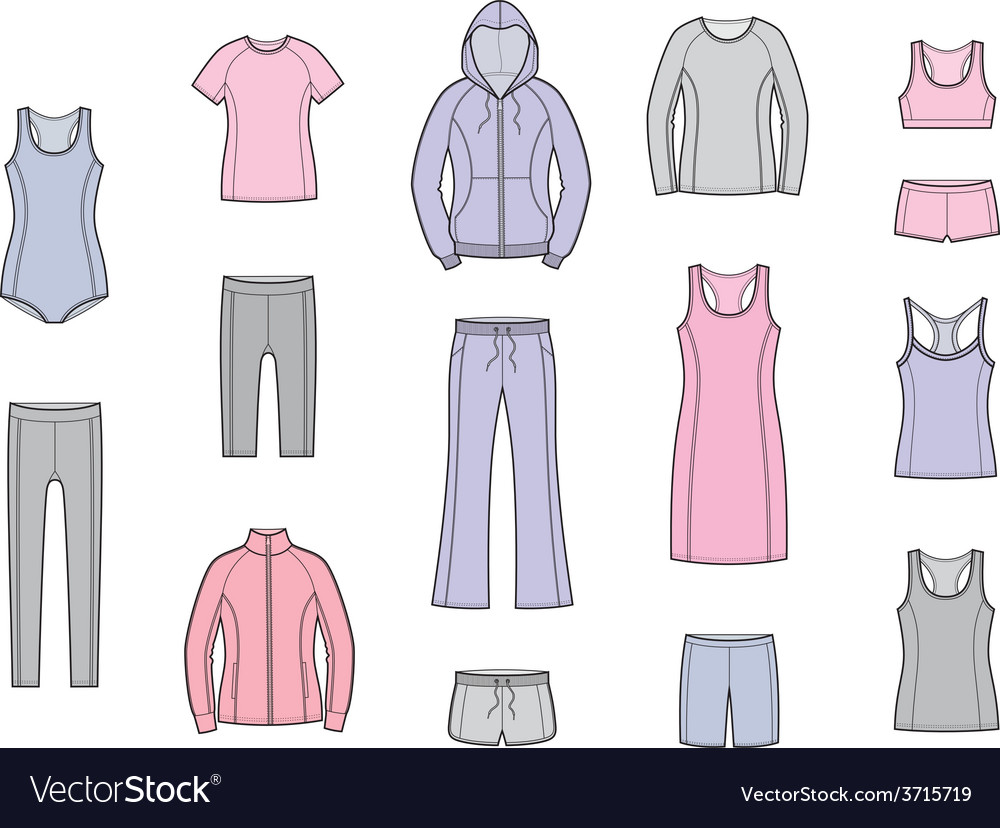 Sport clothes vector   Price: 1 Credit (USD $1)