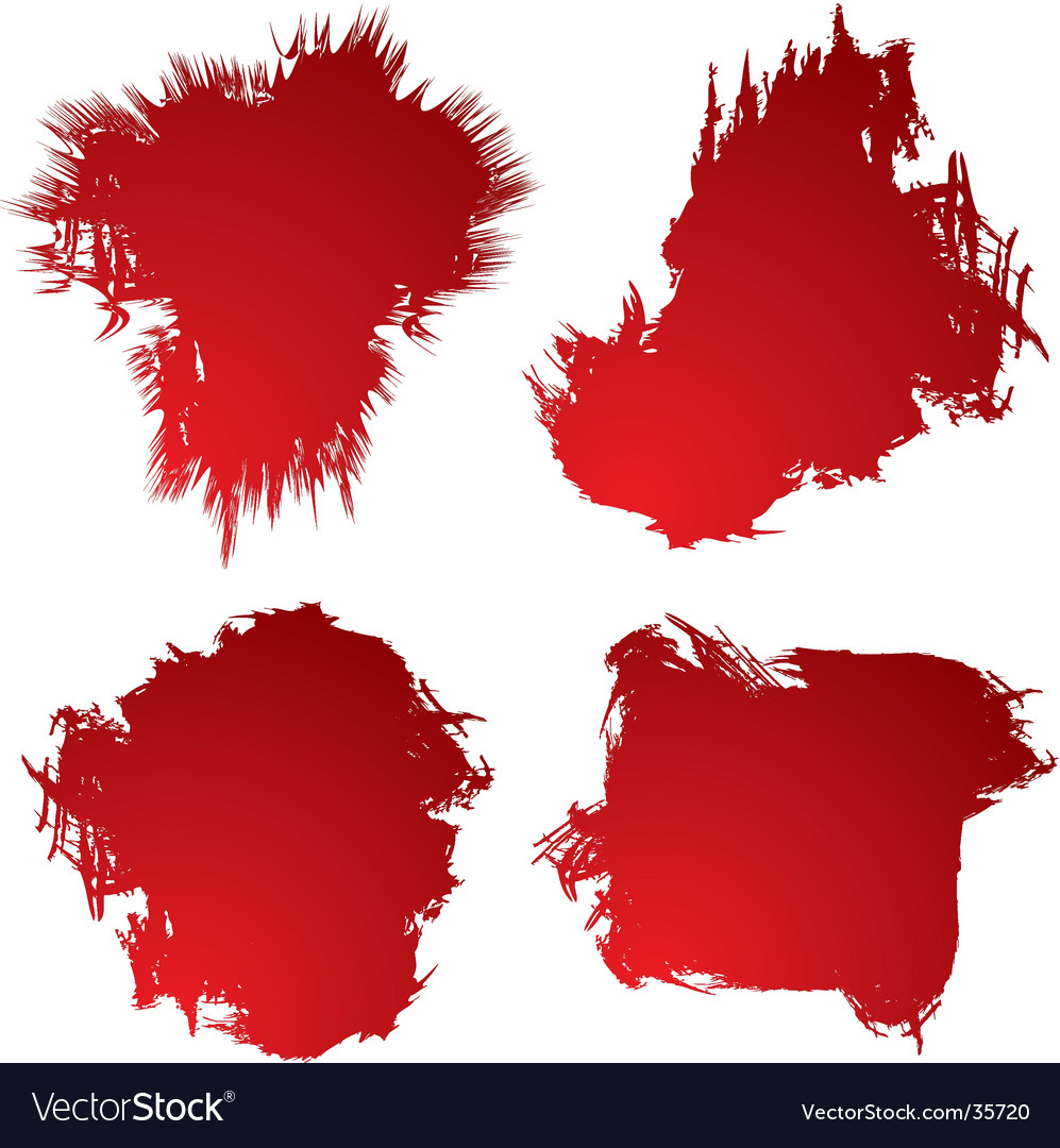 Blood stain vector | Price: 1 Credit (USD $1)