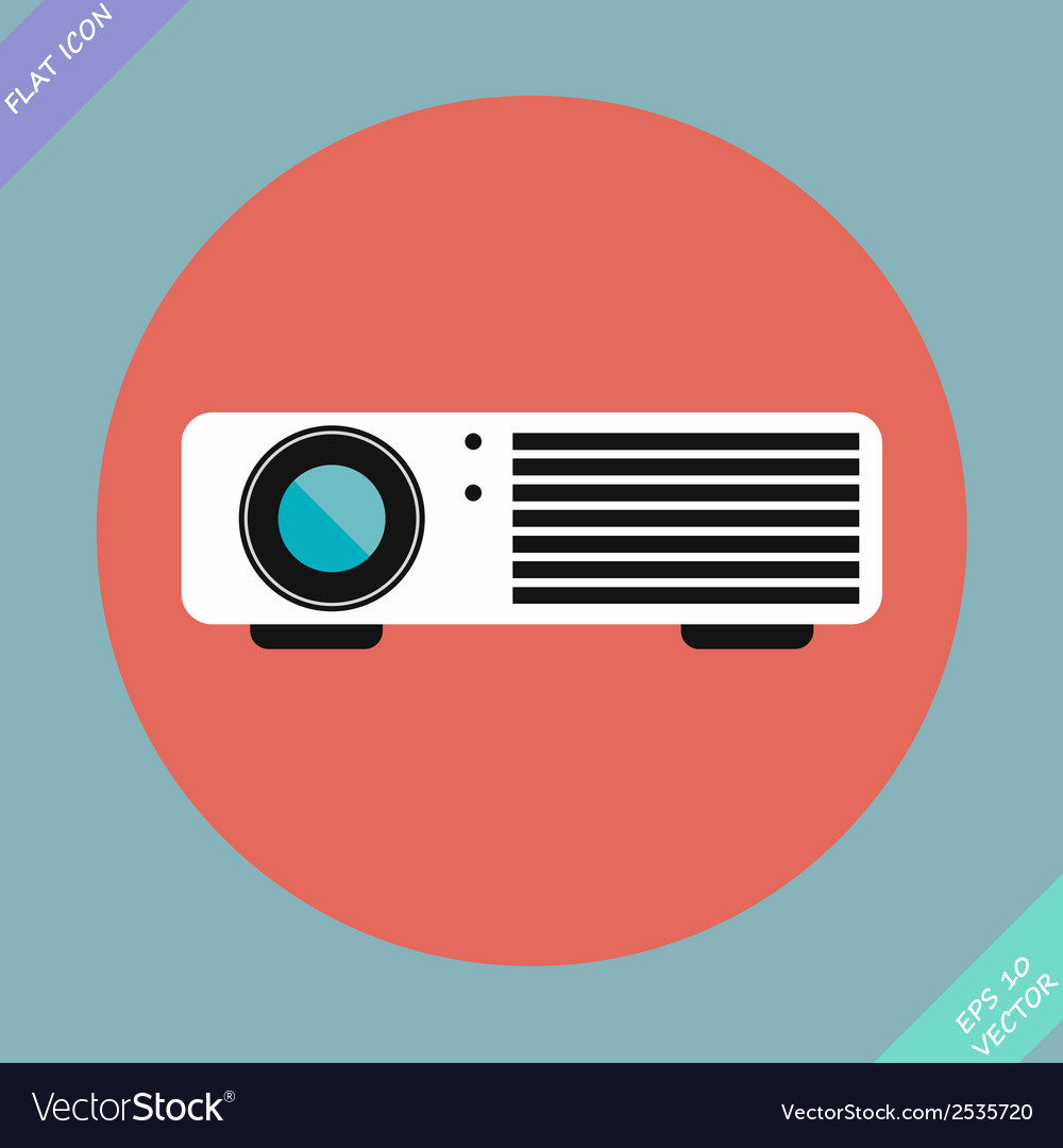 Cinema projector - vector | Price: 1 Credit (USD $1)