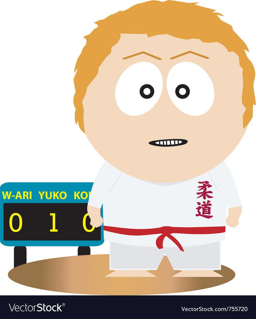 Judo vector | Price: 1 Credit (USD $1)
