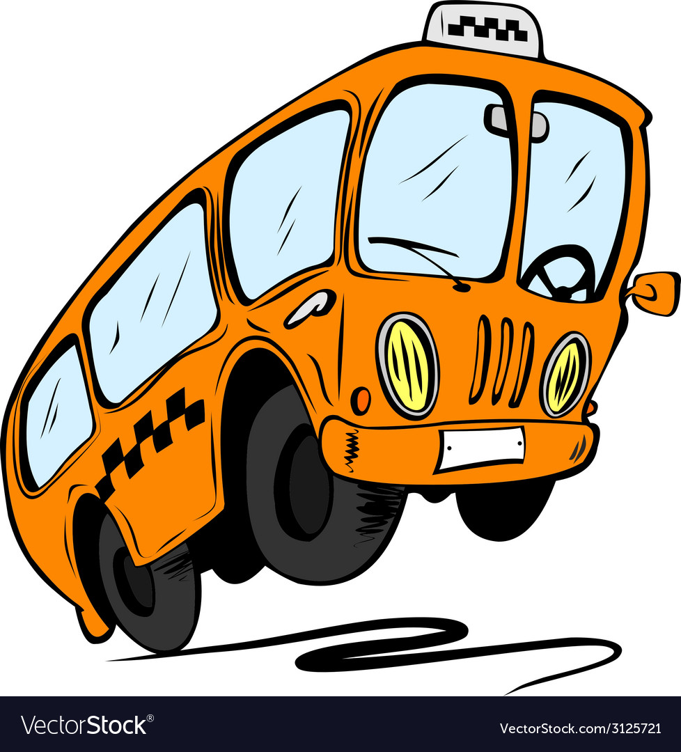 Cartoon bus vector | Price: 1 Credit (USD $1)