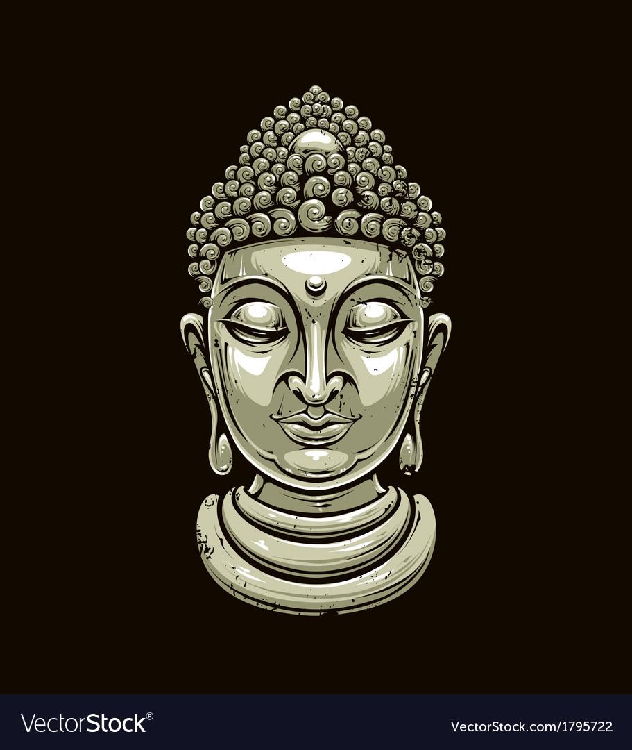 Buddha 2 vector | Price: 3 Credit (USD $3)