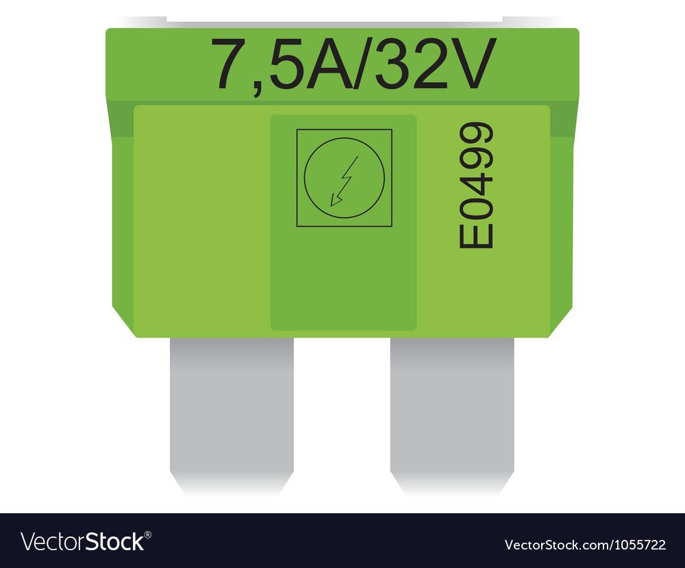 Car fuses vector | Price: 1 Credit (USD $1)