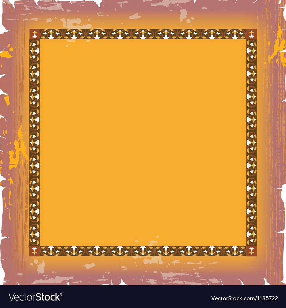 Ornate damask background vector | Price: 1 Credit (USD $1)