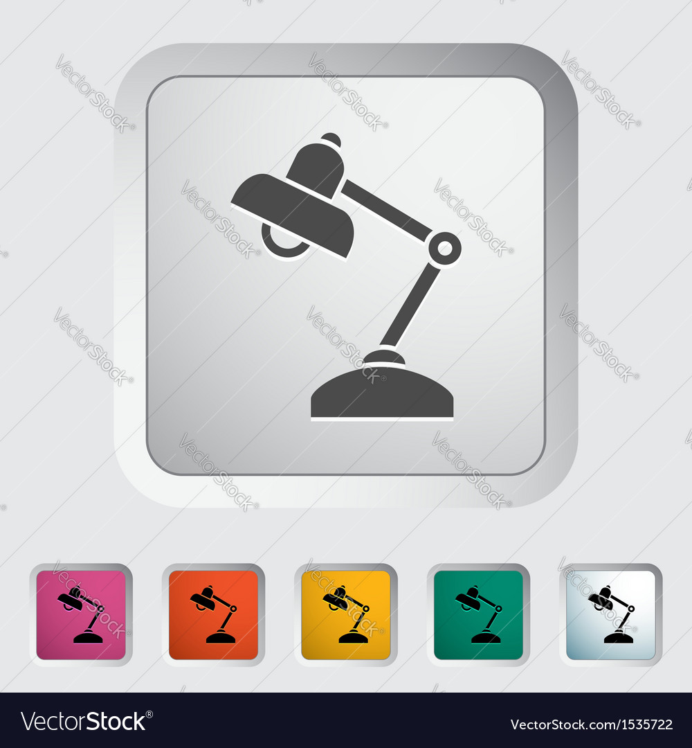 Reading-lamp vector | Price: 1 Credit (USD $1)