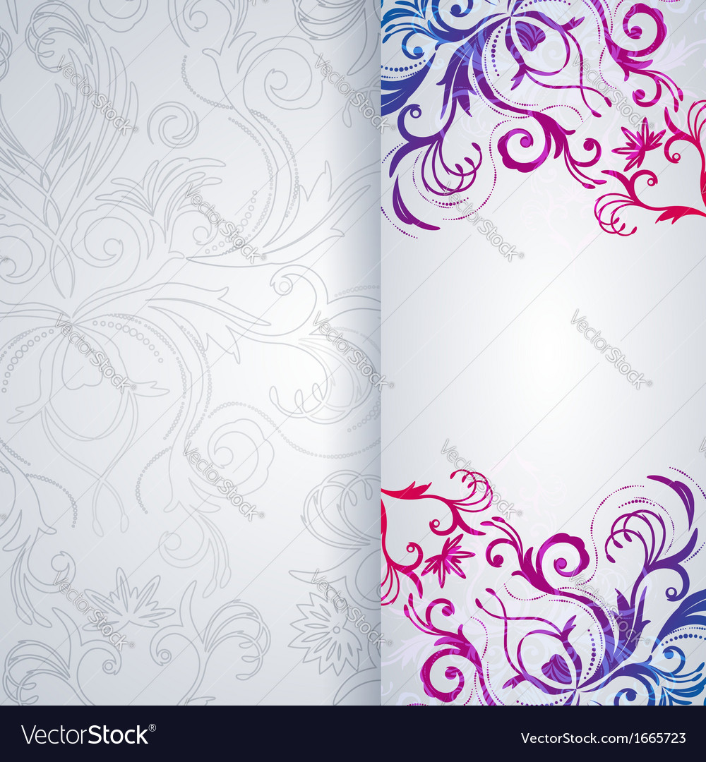 Abstract background with floral item vector   Price: 1 Credit (USD $1)