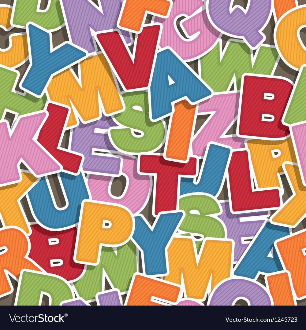 Alphabet pattern vector | Price: 1 Credit (USD $1)