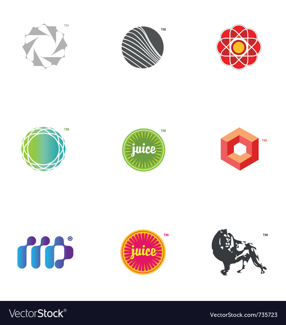 Graphic icons and logos vector | Price: 1 Credit (USD $1)