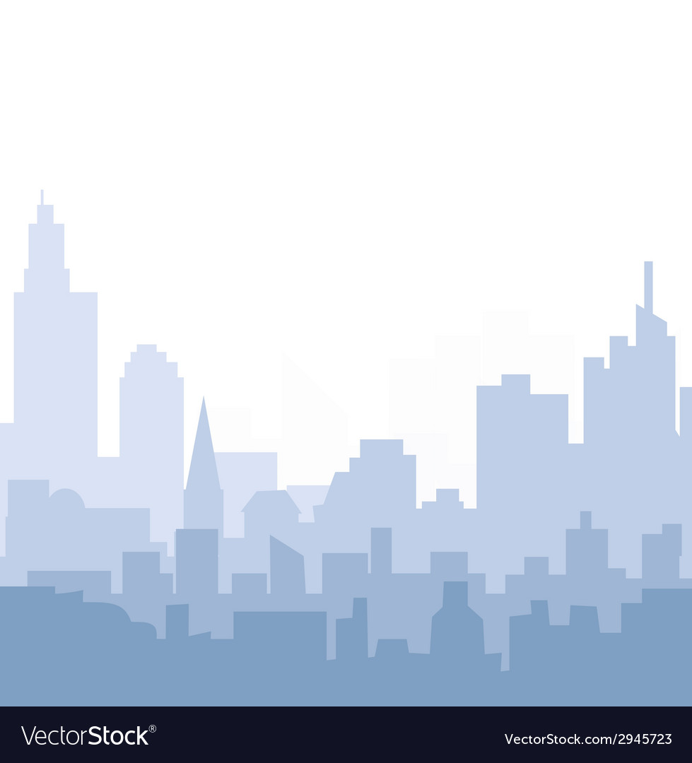 Morning cityscape vector | Price: 1 Credit (USD $1)
