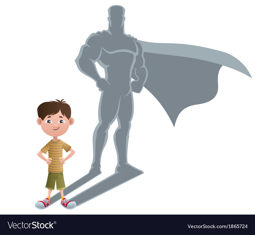 Boy superhero concept 2 vector | Price: 1 Credit (USD $1)
