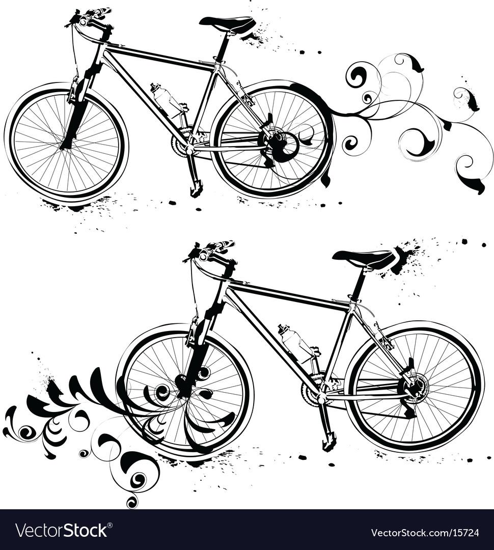 Mountain bike vector | Price: 1 Credit (USD $1)