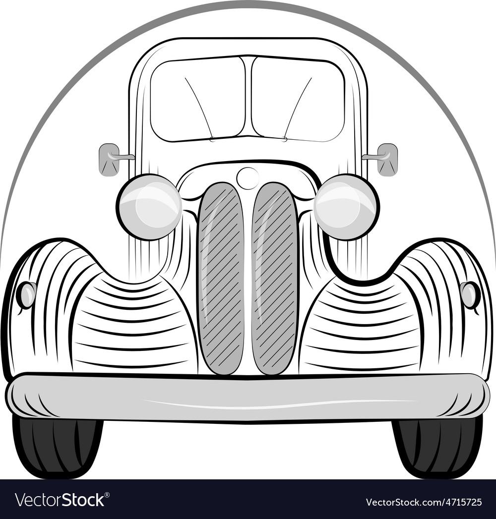 Retro auto vector   Price: 1 Credit (USD $1)
