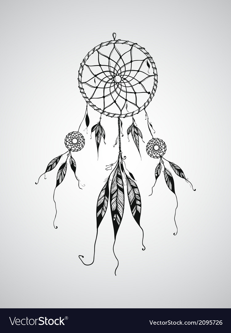 Dream catcher mascot vector | Price: 1 Credit (USD $1)