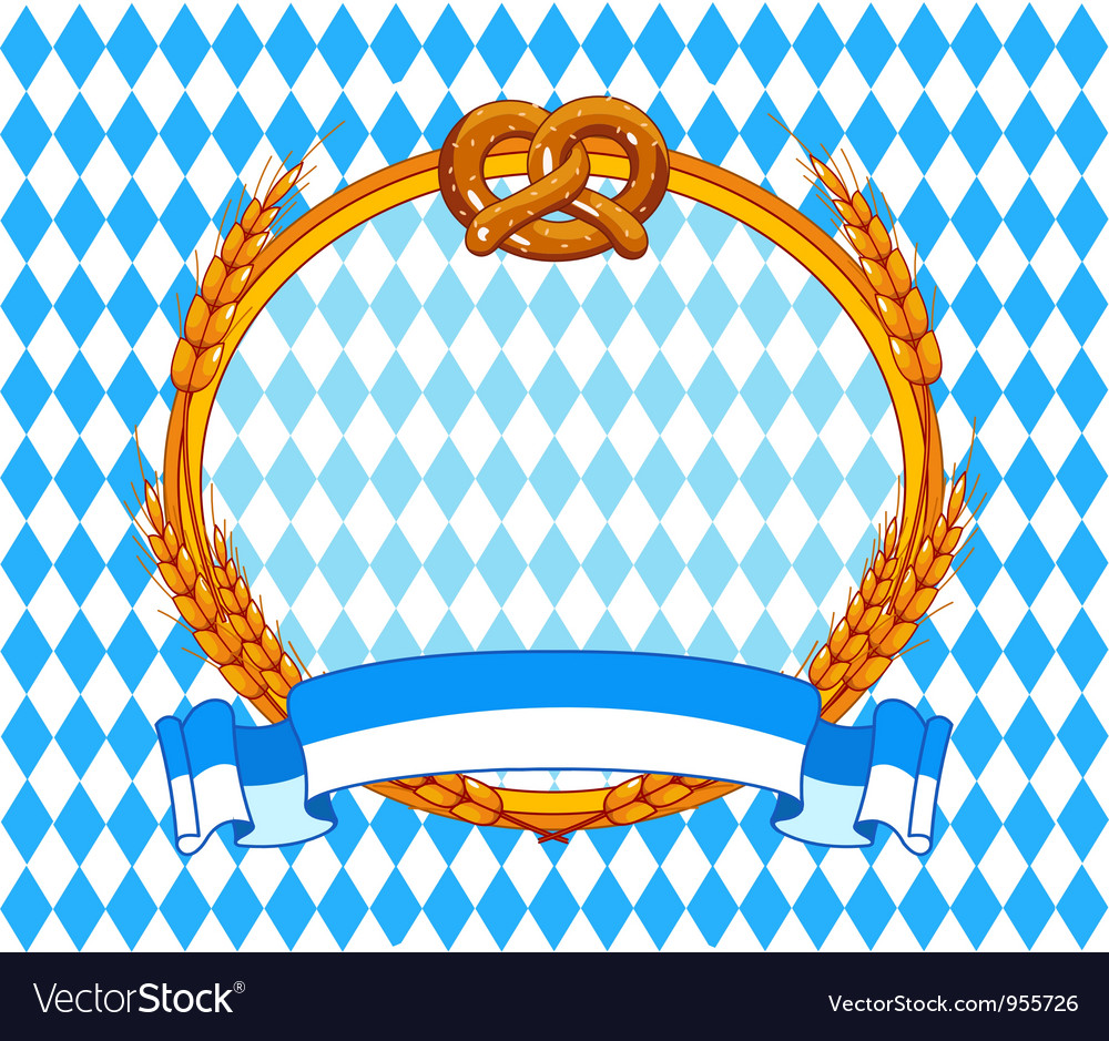 Oktoberfest background vector | Price: 1 Credit (USD $1)