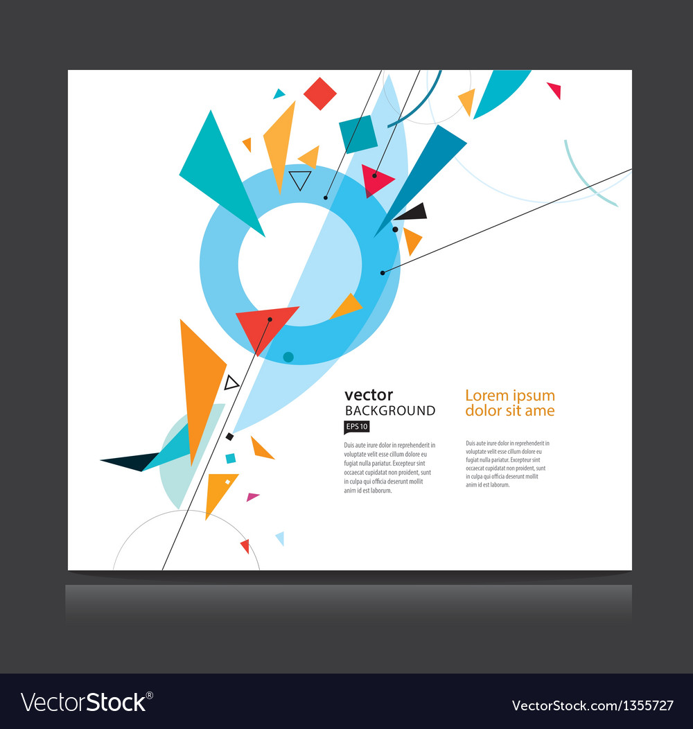 Abstract geometric background eps 10 vector | Price: 1 Credit (USD $1)