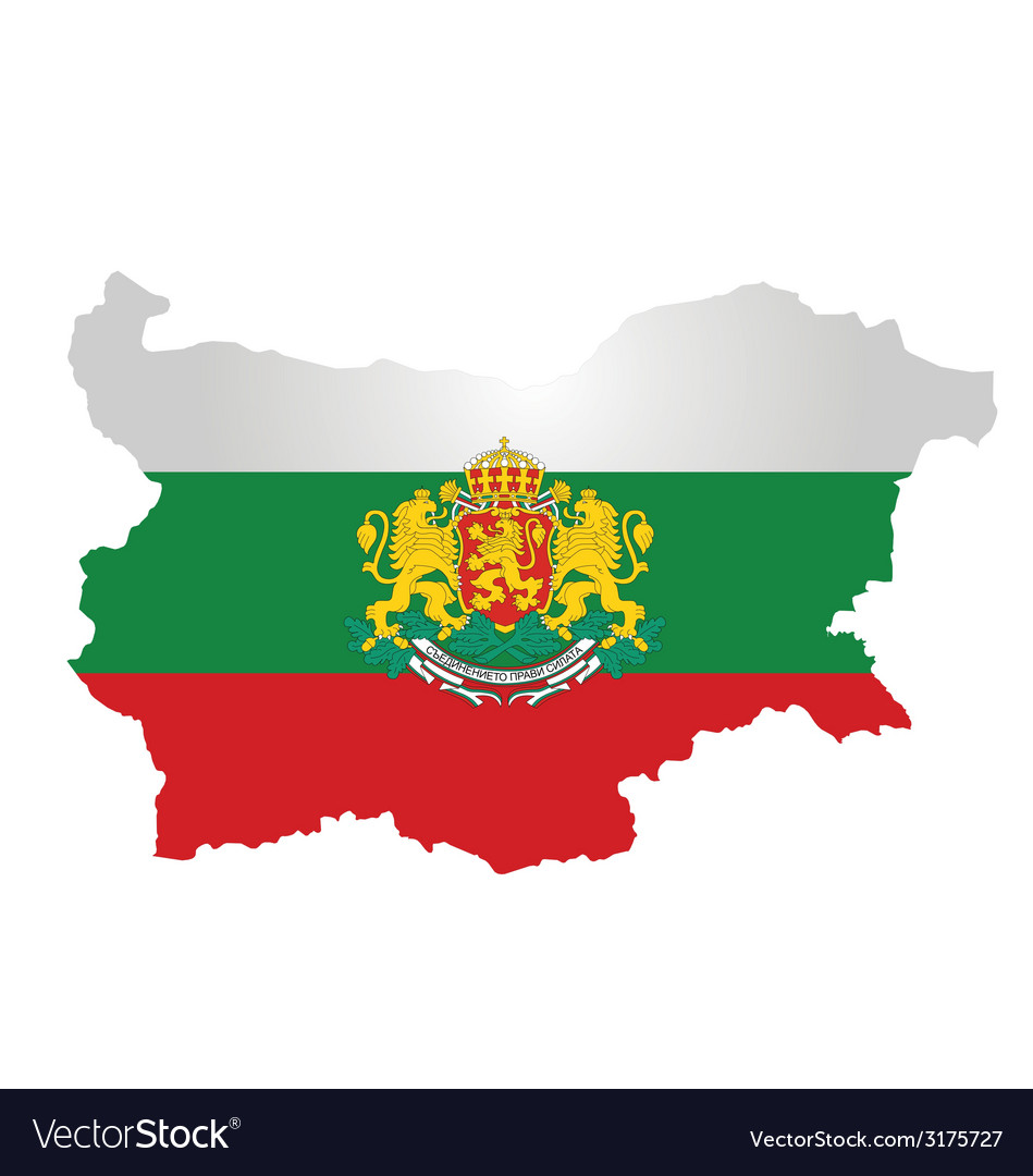 Bulgaria flag vector | Price: 1 Credit (USD $1)