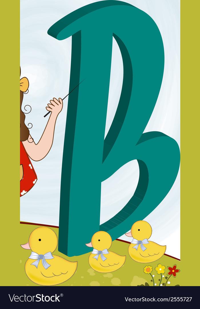 Children alphabet letters vector | Price: 1 Credit (USD $1)