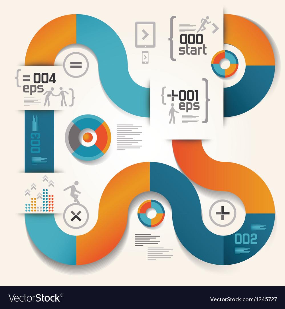 Elements info graphics ipad 03 vector | Price: 1 Credit (USD $1)